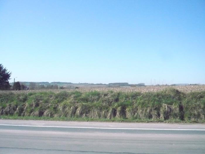 tijdens de wandeling kregen we een uitstekend zicht op het zuidelijke deel van Kortrijk
