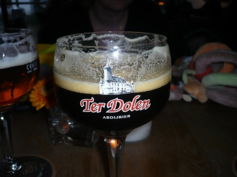 en we lieten ons de biertjes goed smaken...