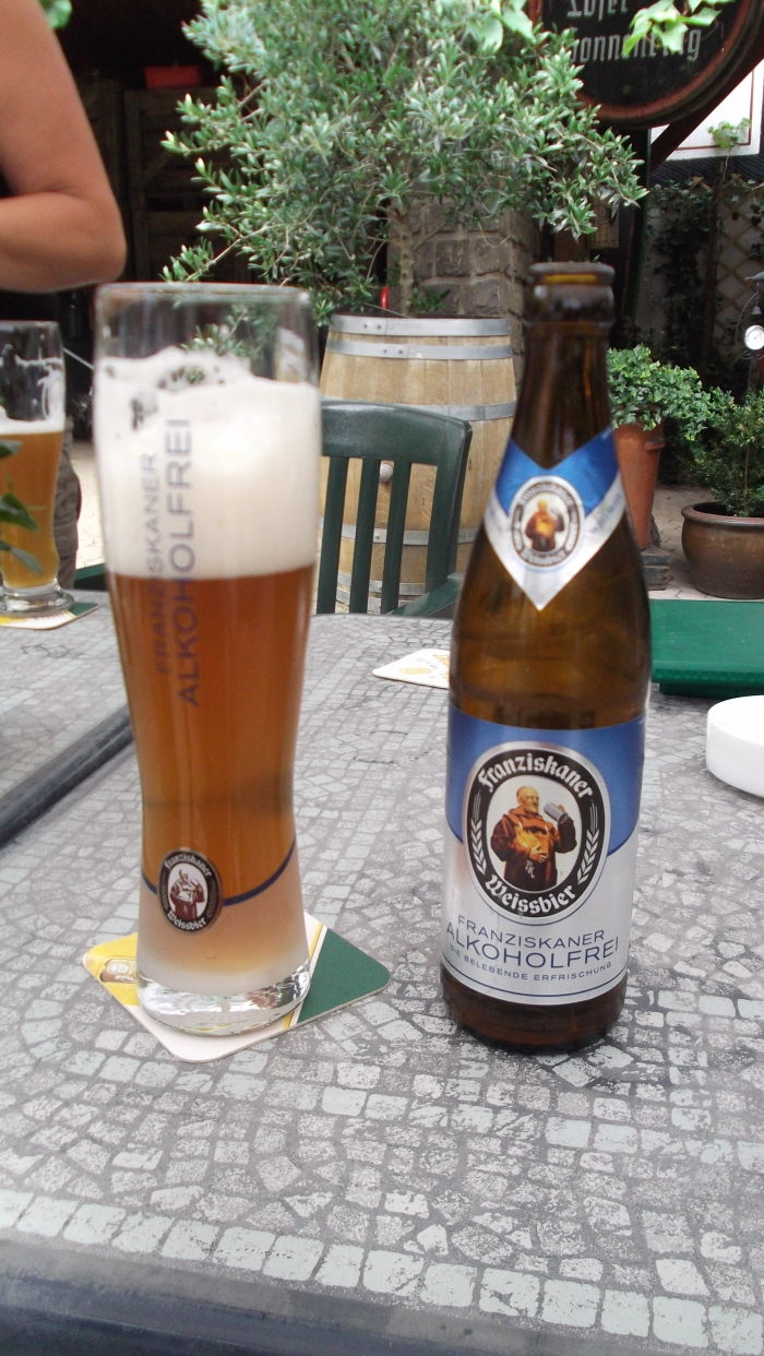 het biertje dat ik vaak dronk (maar dan niet deze alcoholvrije versie...)