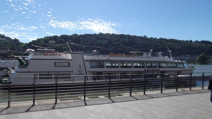 inschepen in Koblenz voor een tocht op de Rijn naar Boppard