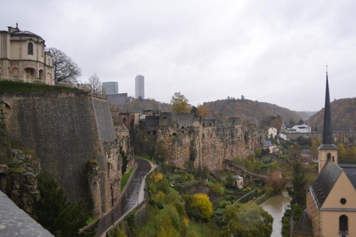 Luxemburg stad: de kazematten