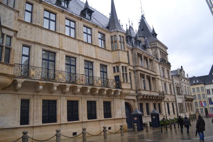 Luxemburg stad: het Groothertogelijk paleis