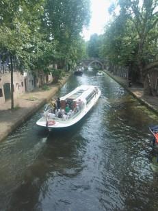 langs de grachten in Utrecht
