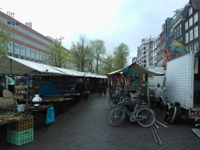 een van de markten